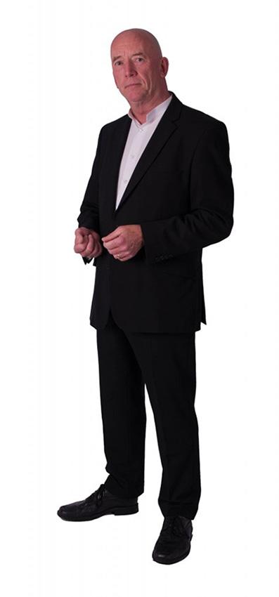 Len Standing Speaking Page